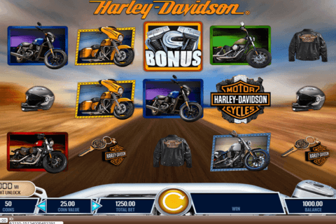 HARLEY DAVIDSON FREEDOM TOUR IGT CASINO SLOTS