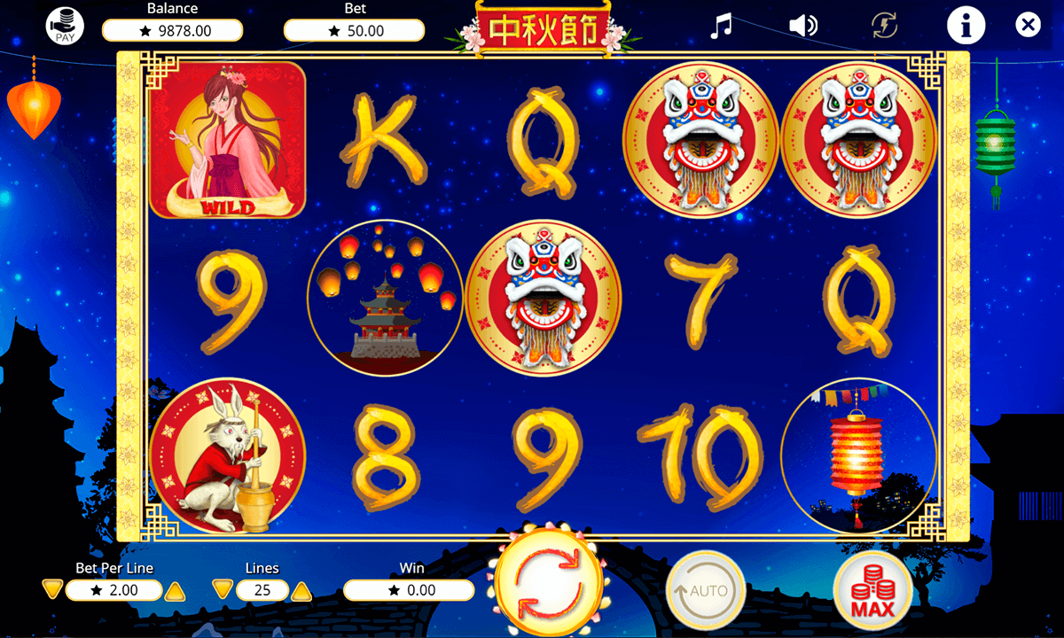 Moon Festival Slots - Free Slot Machine Game - Play Now