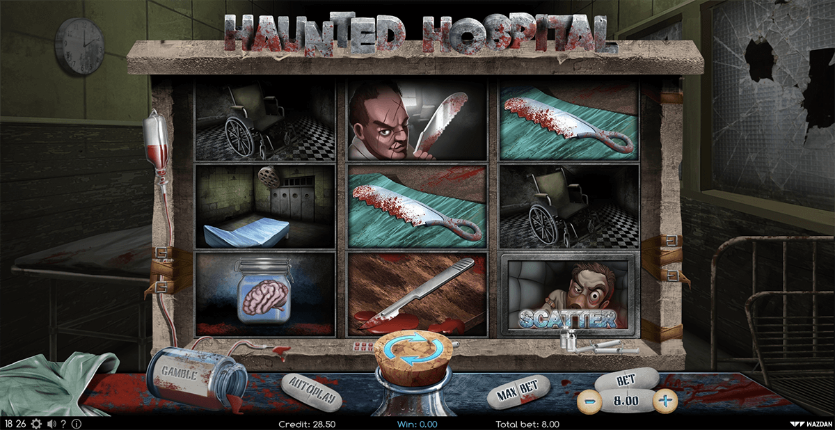 HAUNTED HOSPITAL WAZDAN CASINO SLOTS
