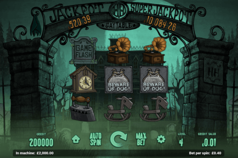 HAUNTED HOUSE MAGNET GAMING CASINO SLOTS