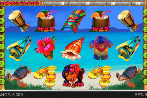 HAWAII VACATION SPINOMENAL CASINO SLOTS