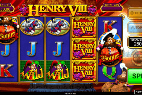 HENRY VIII INSPIRED GAMING CASINO SLOTS