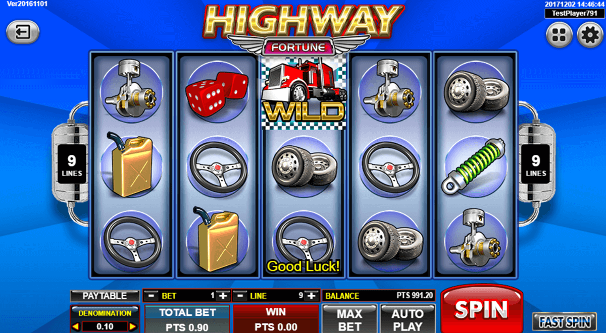Highway Fortune Slot Machine Online ᐈ Spadegaming Casino Slots