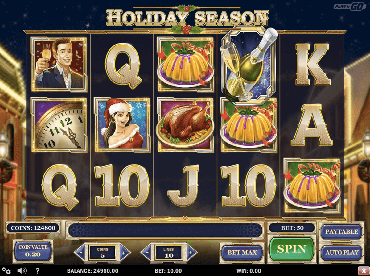 Holiday Season Slot Machine Online ᐈ Playn Go™ Casino Slots
