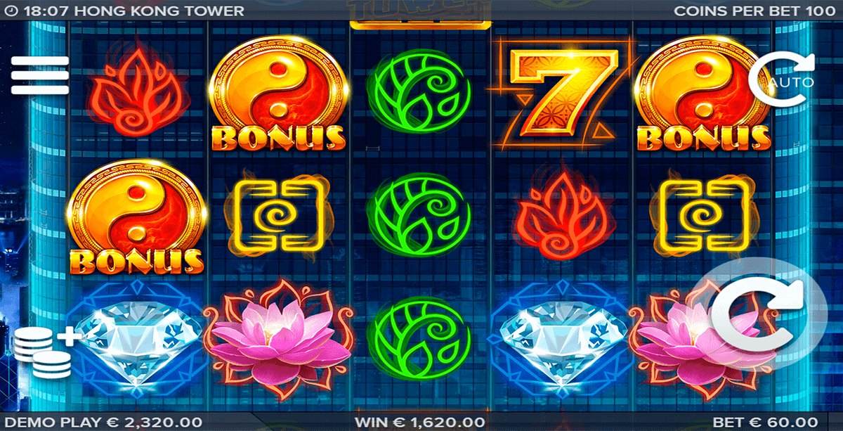 Hong Kong Tower - Rizk Casino