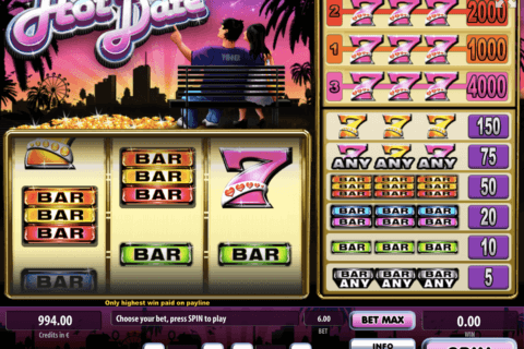 Hot Date Slots - Play Free Tom Horn Gaming Games Online