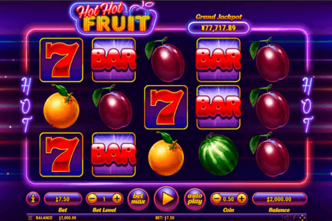 HOT HOT FRUIT HABANERO CASINO SLOTS