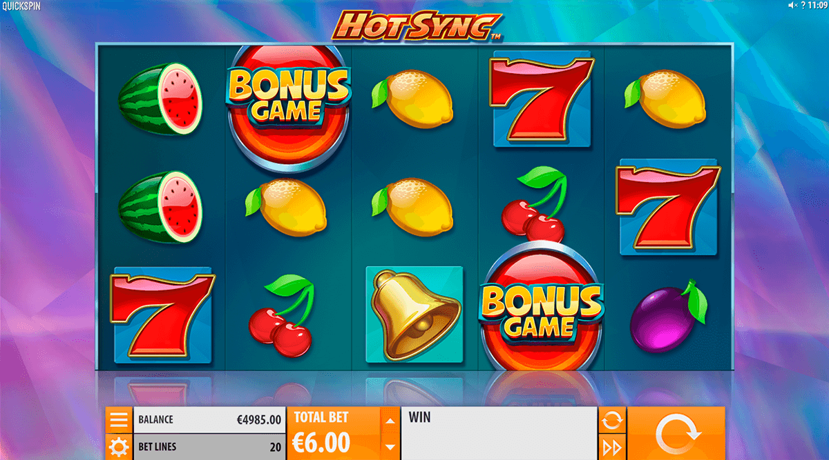 Hot Sync Slots - Play Free Quickspin Slot Machines Online