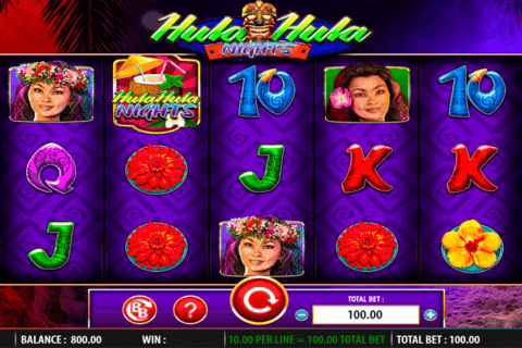 HULA HULA NIGHTS WMS CASINO SLOTS
