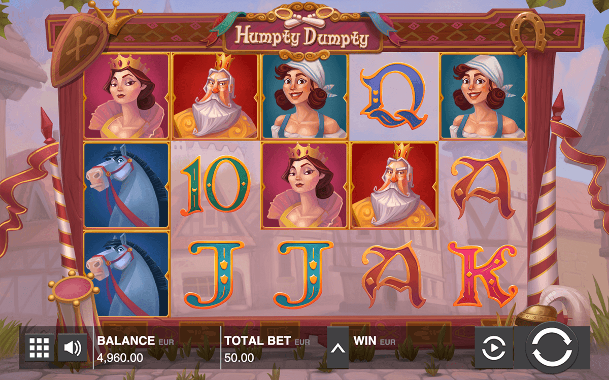 HUMPTY DUMPTY PUSH GAMING CASINO SLOTS
