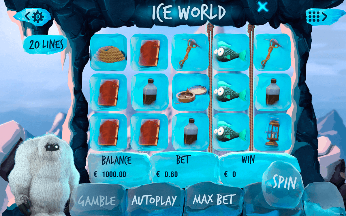 ICE WORLD BOOMING GAMES CASINO SLOTS