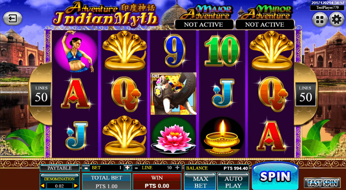Indian Myth Slot Machine Online ᐈ Spadegaming Casino Slots