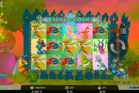 INSECTS 18 MRSLOTTY CASINO SLOTS