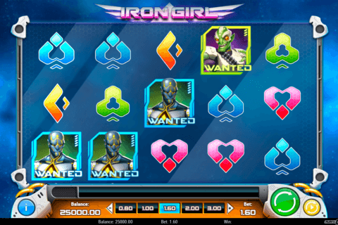IRON GIRL PLAYN GO CASINO SLOTS