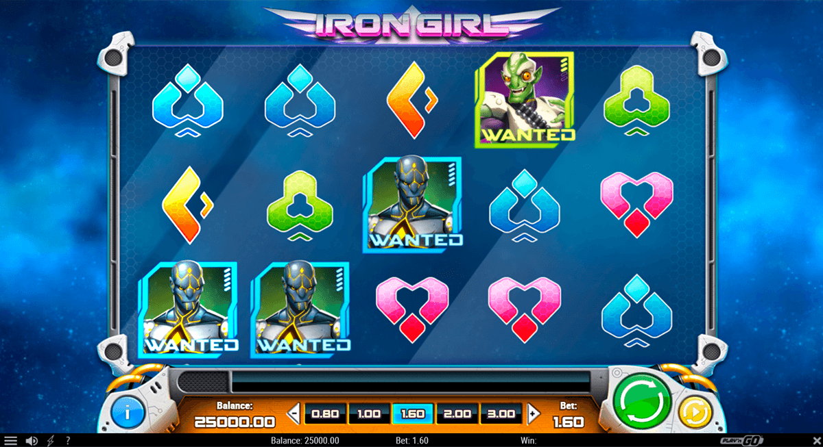 Spiele Iron Girl - Video Slots Online