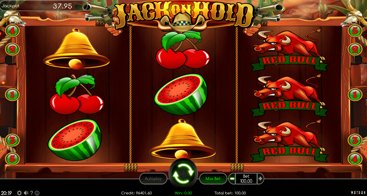Jack on Hold Slots - Free to Play Online Casino Game