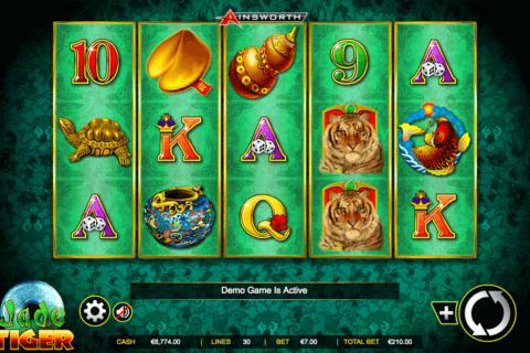 jade tiger ainsworth casino slots