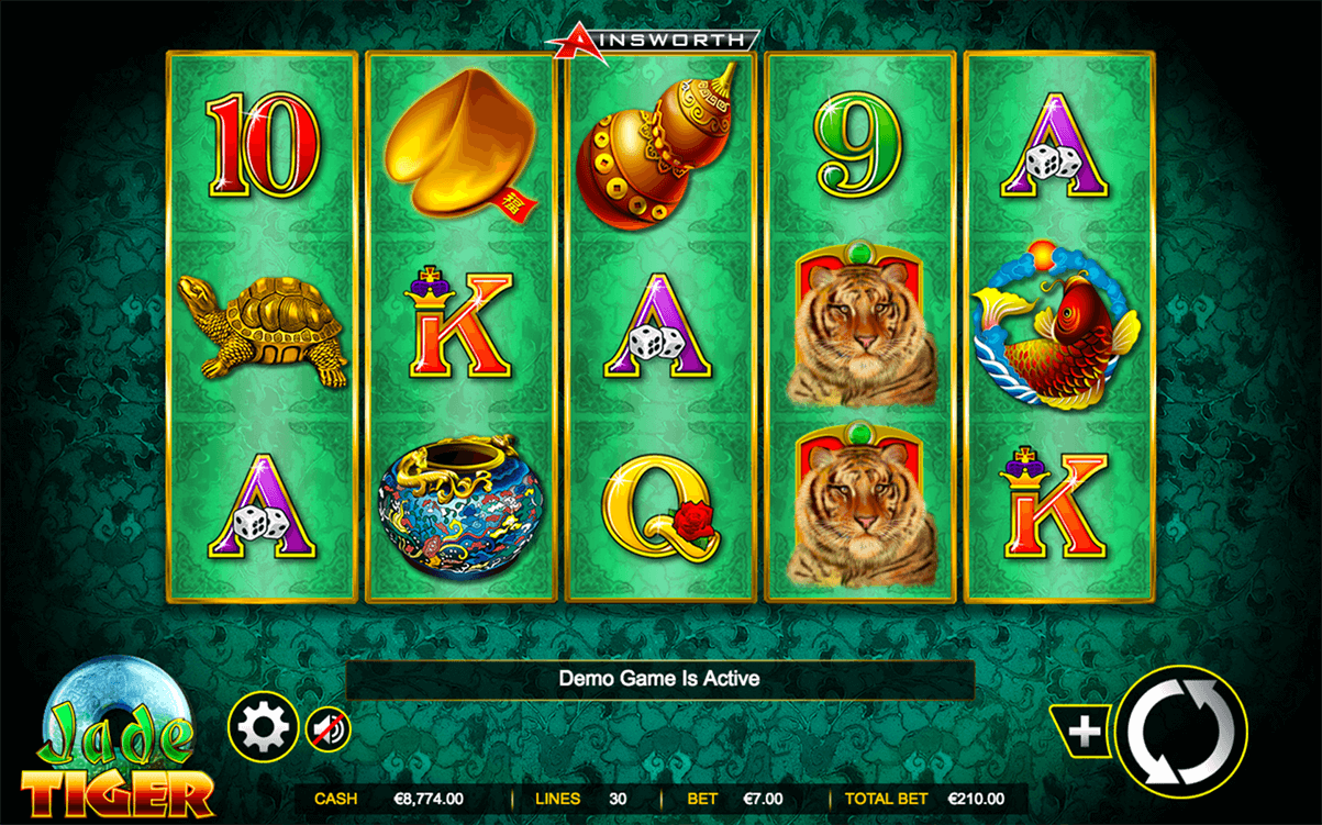 Jade Tiger Slots - Play Free Ainsworth Slot Machines Online