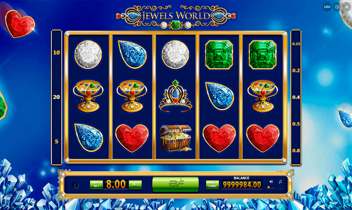 Jewels Slot Machine - Play the Free Casino Game Online