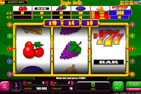 JINGLE BELLS SUPER BELATRA CASINO SLOTS