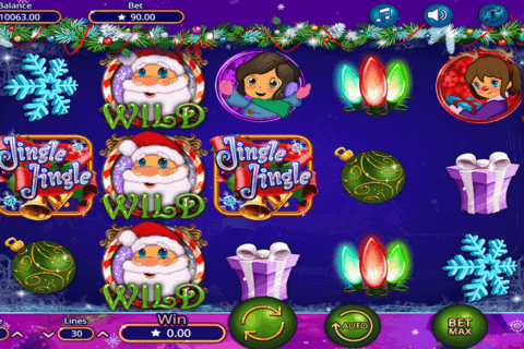 JINGLE JINGLE BOOMING GAMES CASINO SLOTS