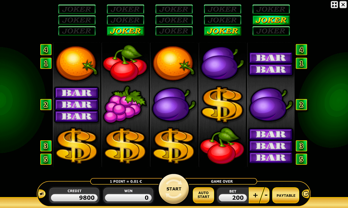 Joker Area Slot - Play this Kajot Casino Game Online