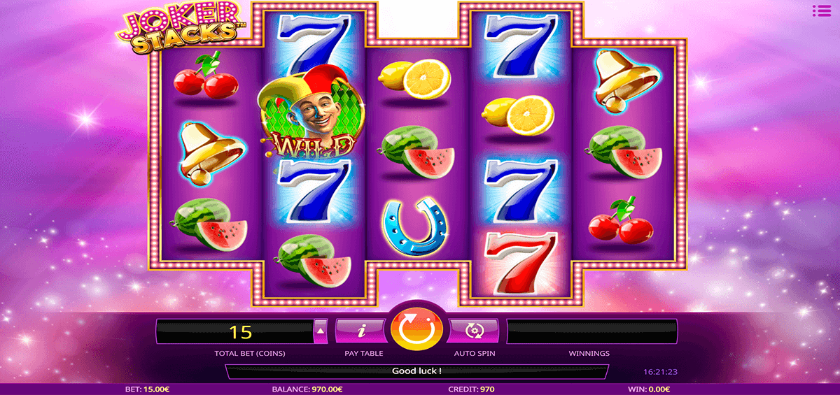 joker stacks isoftbet casino slots