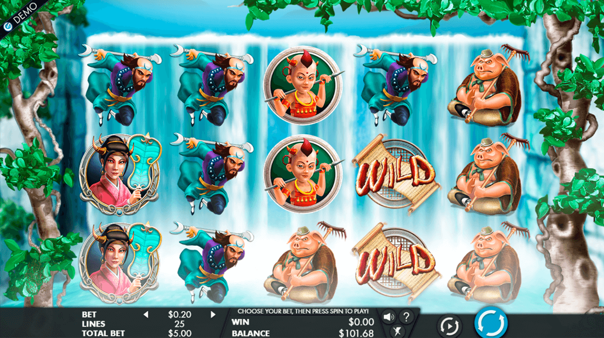 Journey to the West Slot Machine