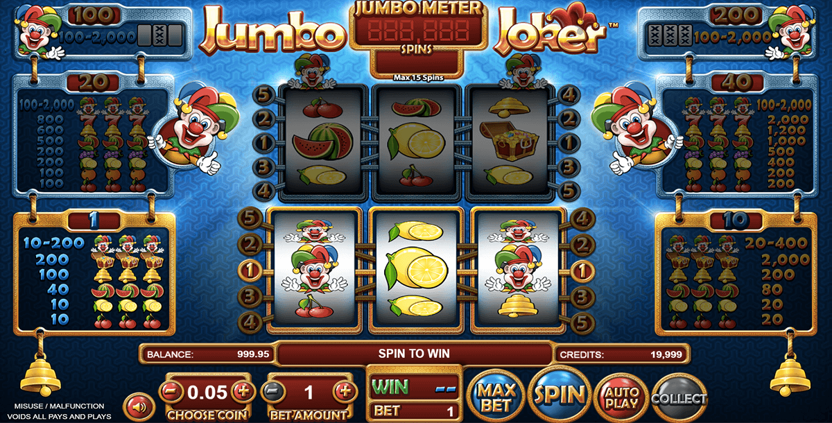 JUMBO JOKER BETSOFT CASINO SLOTS