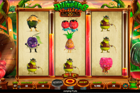 JUMPING FRUITS WAZDAN CASINO SLOTS