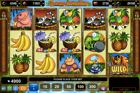 JUNGLE ADVENTURE EGT CASINO SLOTS