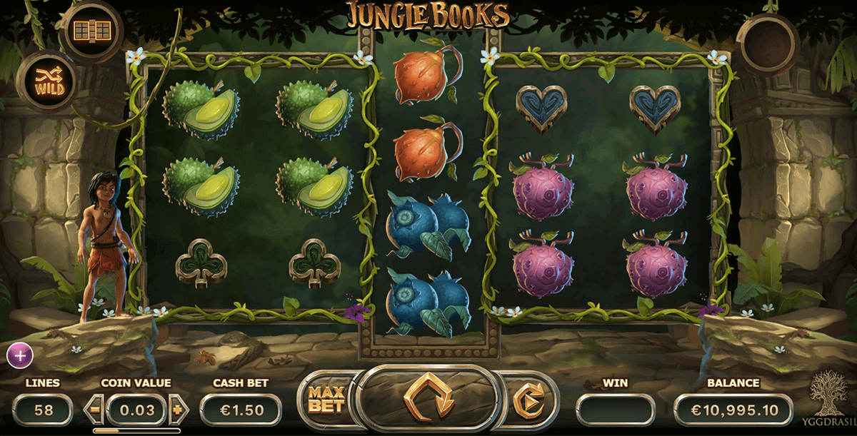 Green Jungle Slot Machine - Play the Online Slot for Free