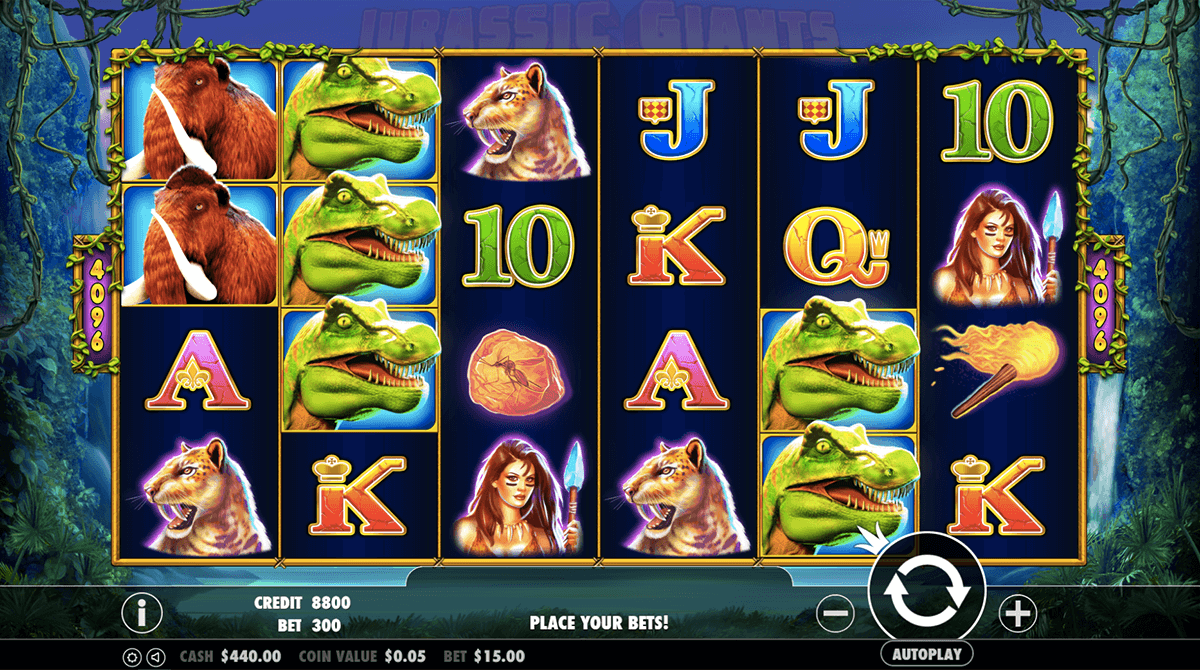 JURASSIC GIANTS PRAGMATIC CASINO SLOTS