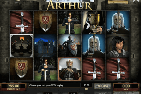 KING ARTHUR TOM HORN CASINO SLOTS