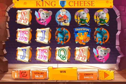 KING OF CHEESE MULTISLOT CASINO SLOTS