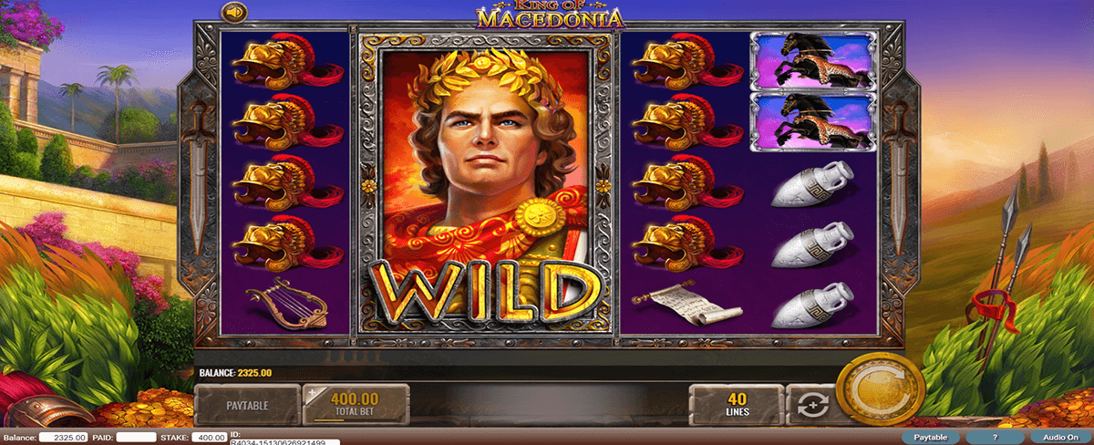 KING OF MACEDONIA IGT CASINO SLOTS