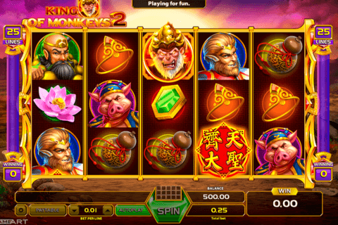 KING OF MONKEYS 2 GAMEART CASINO SLOTS