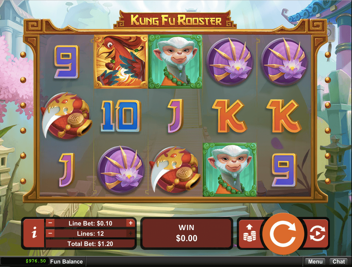 KUNG FU ROOSTER RTG CASINO SLOTS