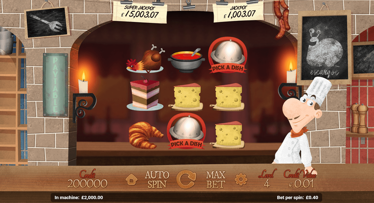 LE CHEF MAGNET GAMING CASINO SLOTS