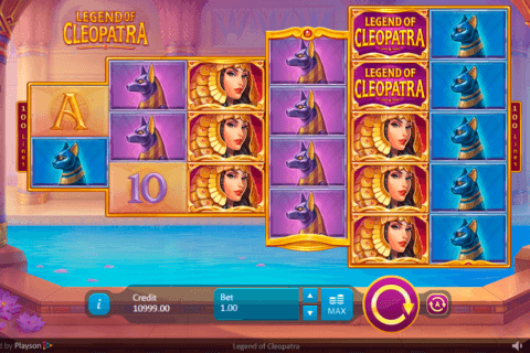 LEGEND OF CLEOPATRA PLAYSON CASINO SLOTS