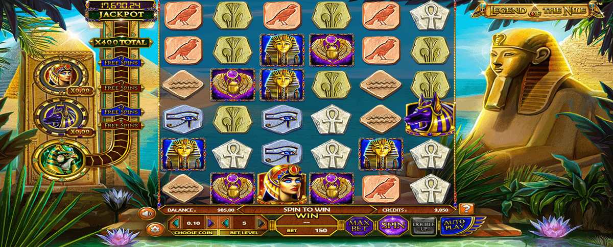 LEGEND OF THE NILE BETSOFT CASINO SLOTS