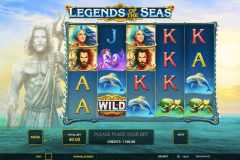 LEGENDS OF THE SEAS NOVOMATIC CASINO SLOTS