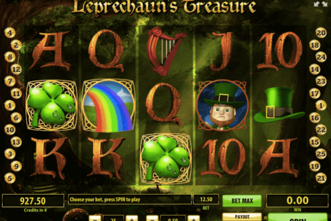 LEPRECHAUNS TREASURE TOM HORN CASINO SLOTS