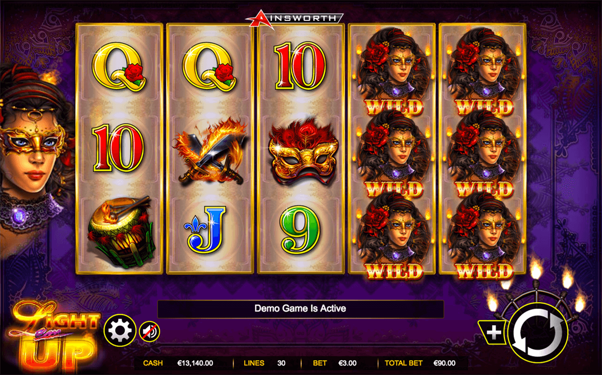 LIGHT EM UP AINSWORTH CASINO SLOTS