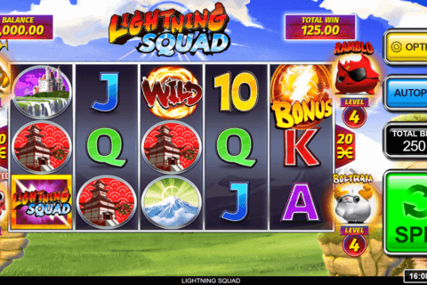 LIGHTNING SQUAD INSPIRED GAMING CASINO SLOTS