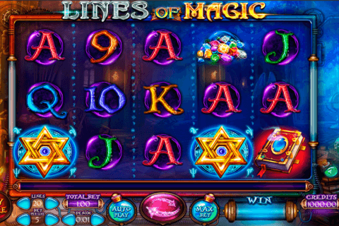 LINES OF MAGIC FELIX GAMING CASINO SLOTS