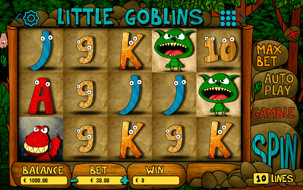 LITTLE GOBLINS BOOMING GAMES CASINO SLOTS