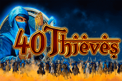 logo 40 thieves bally wulff slot game