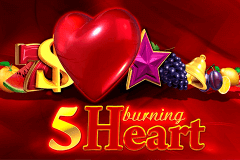 5 BURNING HEART EGT SLOT GAME