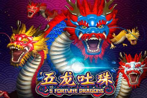 5 FORTUNE DRAGONS SPADEGAMING SLOT GAME